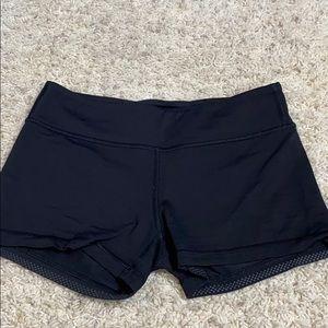 lululemon athletica Shorts - black ivivva spandex
